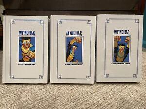 Image Invincible Hardcover Compendium Lot - Volume 1 2 3 by Robert Kirkman OOP