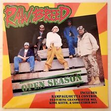 1993 - RAW BREED - OPEN SEASON - SEALED ORIGINAL - KOOL KEITH - GODFATHER DON