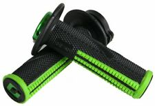 ODI Emig *PRO* Lock-On V2 Grips -BLACK/GREEN- (2&4-Stroke) MADE IN USA