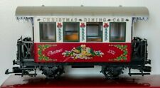 LGB Train car #33130 Christmas Train Dining Car