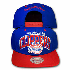 Original Mitchell & Ness Los Angeles Clippers Snapback Cap NBA Doubleup blau/rot