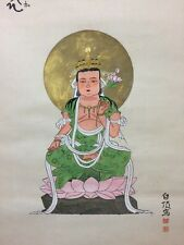 JAPAN/JAPANESE HANGING SCROLL/KAKEJIKU HAND PAINTED(№087  )