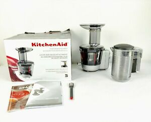 KitchenAid Juicer and Sauce Attachment for Stand Mixer KSM1JA Complete