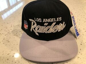 VTG 90's NWT Los Angeles Raiders OG Hat Sports Specialties Las Vegas THE PRO