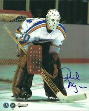 VINTAGE PHIL MYRE SIGNED ST.LOUIS BLUES GOALIE 8x10 PHOTO! Autograph