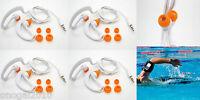 4x Auriculares Sumergibles Acuaticos Waterproof Natacion Piscina IPX8 Mp3 4086bl