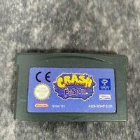 Crash Bandicoot Fusion Nintendo Game Boy Advance GBA Game Cart Only Genuine