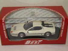 FERRARI 512 BB 1976 blanche MODEL BEST 1/43