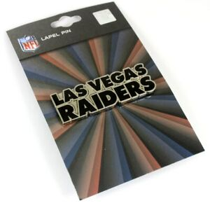 "Las Vegas Raiders GRANDE Logo Pin - 2"""