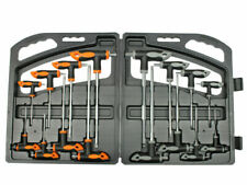 Set Kit 16 pz chiavi Chiave a T esagonali e Torx lunghe Valigetta Cassetta