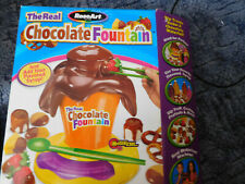 used ROSEART CHILDRENS THE REAL CHOCOLATE FOUNTAIN S.BID 4.00