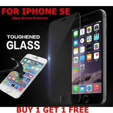 100%25 GENUINE TEMPERED GLASS FILM SCREEN PROTECTOR FOR APPLE IPHONE SE - NEW UK*