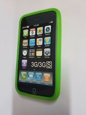 Apple iPhone 3G 3GS Smartphone Cellphone Green Case Skin i Phone Fitted Cover