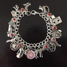 Supernatural Charm Bracelet, Dean, Sam, Castiel, SPN, Fandom, Gift, Demon Hunter