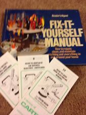 Reader's Digest Fix-It-Yourself Manual by Reader's Digest -plus 3 extra How to..
