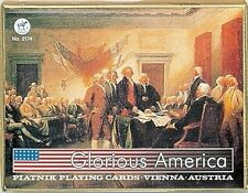 Glorious America Playing Cards Amazing Non-Standard Double Deck by Piatnik New