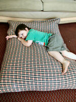 Funky KosiKush Floor Cushion, Lounger, Beanbag, Bean Bag,