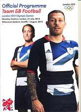 OLYMPIC GAMES LONDON 2012 TEAM GB v URUGUAY OFFICIAL FOOTBALL PROGRAMME