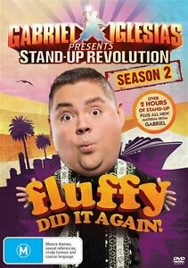 NEW SEALED Gabriel Iglesias Stand-Up Revolution Series/ Season 2 DVD Region 4
