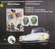 MICHEL MAGNE - FANTOMAS - DIGIPAK - Andrè Hunebelle -