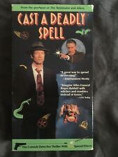 CAST A DEADLY SPELL Fred Ward David Warner Julianne Moore Clancy Brown VHS 1991