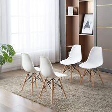 Set di 4 Sedie,Sedie da Pranzo Sedia da Ufficio Design Nordico Sedia Retrò