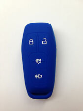 Blue Fob Remote Key Cover for 2013-2016 FORD Mustang Fusion Explorer F-150 Edge