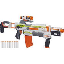 NERF N-Strike Modulus ECS-10 Blaster Nerf Gun Dart Foam Toy New Free Shipping