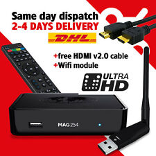 MAG 254 Wlan IPTV/OTT Multimedia Streamer SetTopBox FullHD HDMI WIFI Adapter