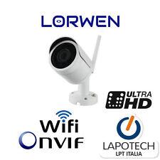 Lorwen IP Camera ONVIF LBH30S400W Telecamera WiFi h265 4 mpx 300 metri 1080p WDR