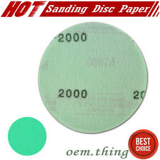 "x10 Pcs Dry Wet Sand Paper Auto Body Repair Sanding Disc For 2000 Grit 5"" Inch"