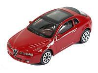 Burago 1/43 Diecast Model Car - Alfa Romeo Brero 3dr in Red 'Street Fire Range'