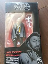 Star Wars The Black Series Lando Calrissian 6 Inch In Box #65 Action Figure