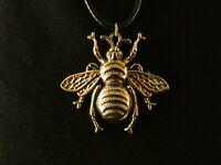Anhänger Biene mit Kette 24 Karat Vergoldet Charm Imme Honeybee