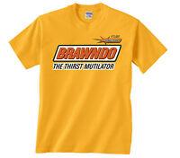 BRAWNDO THE THIRST MUTILATOR T-Shirt -from IDIOCRACY electrolytes movie - 395