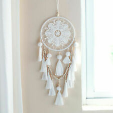 BoHo Handmade Dream Catcher Lace Tassel Wall Home Chic Hanging Decor Ornament FA