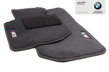 New OEM BMW Black Carpet Floor Mats 1994-1999 E36 M3 Coupe Sedan 82111469805