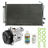 For Subaru Forester 2003-2006 A/C Kit w/ AC Compressor Condenser & Drier TCP