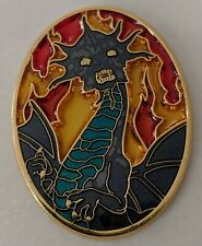 Disney Soda Fountain Narissa Dragon Stained Glass Pin LE 300 DSF Enchanted