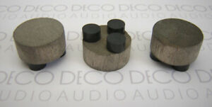 Something Solid Dissipating feet standard size. Set of 3. Inc. 1st Post  DECO