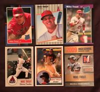 Mike Trout ACEO Custom Rookie 6 Card Lot Angels MVP