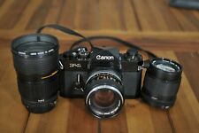 CANON F1n with 28-85 FD and 100 US Navy and 50 1.4 FD lens, NICE