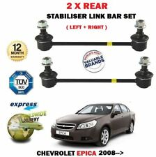 FOR CHEVROLET EPICA 2008-> 2X REAR LEFT RIGHT SIDE STABILISER SWAY LINK BARS SET