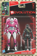 Revolution #4 Sub Cover D Action Figure Variant Arcee Snake Eyes Cullen Bun IDW