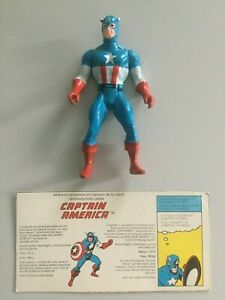 Marvel Secret Wars Captain America 1984 Mattel Guerre Secrète