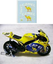 1/12 Valentino Rossi Logo camel Yamaha M1  2006 decals tamiya  & minichamps