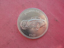 1949 JAGUAR XK120 AUTO SHELL COIN TOKEN