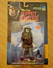 "Retro Puppet Master Retro Blade 6.5""in Figure in Brown Overcoat  1999 Full Moon"