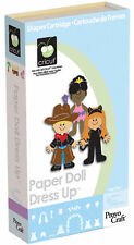 *New* PAPER DOLL DRESS UP People Kids Cricut Cartridge Factory Sealed Free Ship
