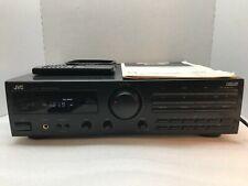 JVC RX-212BK STEREO FM-AM RECEIVER